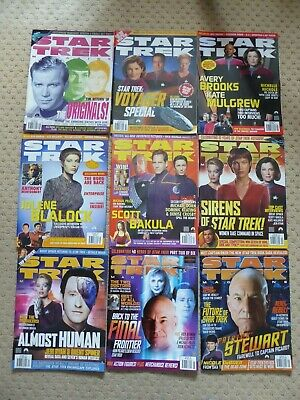 9  Star Trek  Monthly  Magazines