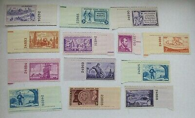 Numbered - Mint Never Hinged US Postage Stamps - as pictured