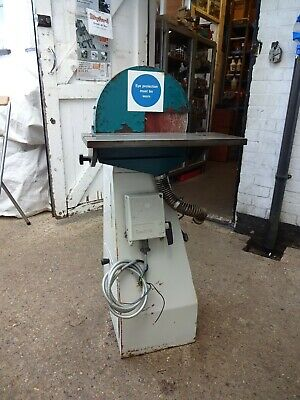 """Denford 12"""" disc sander, three phase motor in base easy to change to single!"""