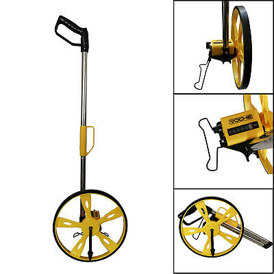 Voche Foldable Distance Measuring Wheel With Stand & Bag Surveyors Builders Road