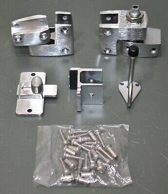 Global Partitions Inswing Door Set for Polymer Partition 40-8571007, Hardware