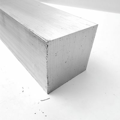"3.25"" x 3.25"" Aluminum  6061 SQUARE Solid  FLAT BAR 5.875"" Long  sku 175439"