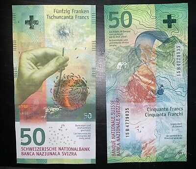 50 SWISS FRANCS, Good Condition! Great Investment For Recession BUY BUY BUY!