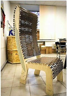 DXF,CDR File Laser Cutting CNC Router Laser Cut CNC Chair