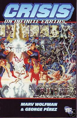Crisis on Infinite Earths Trade paperback Wolfman Perez Alex Ross
