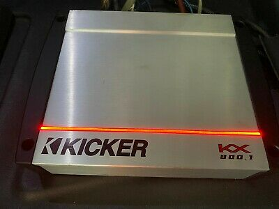 Kicker 40KX   Mono 800 Watt RMS Amplifier