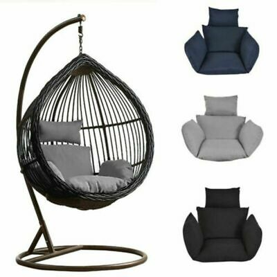 Hot Foldable Wicker Swing Egg Chair Hanging Chair Cushion Outdoor Without Chair