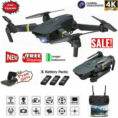 Drone x Pro 2.4G Selfie WIFI FPV With 4K HD Camera Foldable RC Quadcopter RTF US