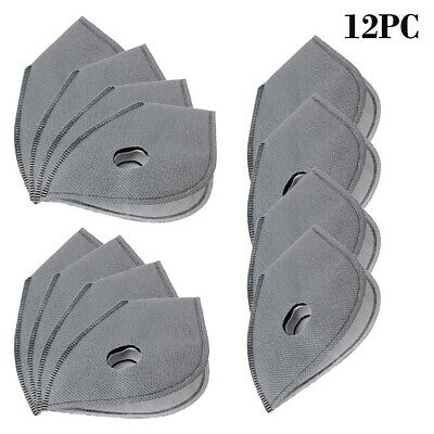 12pcs PM2.5 Replaceable Protection Filter Activated Carbon Filter Mat