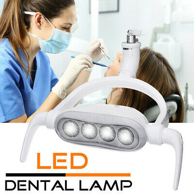 LED Induction Lamp Unit Teeth Care Dental Chair Shadowless 6300K 15W Light Parts