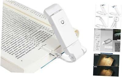 DEWENWILS USB Rechargeable Book Reading Light, Warm White, Brightness