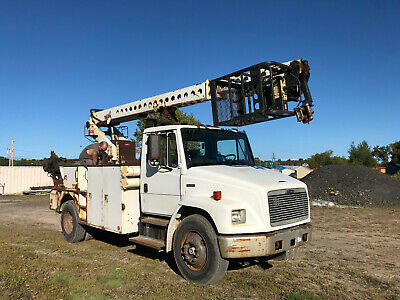 1999 Freightliner FL70 40' Telsta Cable Placing Bucket Basket Boom Truck Diesel