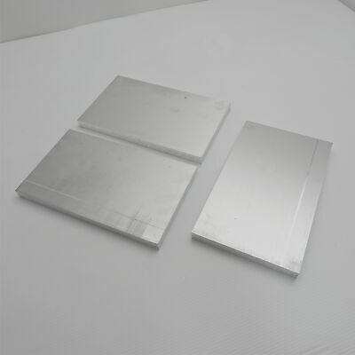".625"" thick  5/8  Aluminum 6061 PLATE  5.875"" x 9.75"" Long QTY 3  sku 175849"