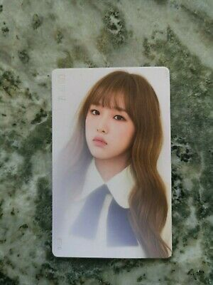 IZ*ONE Choi Yena Color*iz Kihno Rose ver. PC Photocard Kpop Official