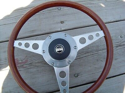 """CLASSIC ASTRALI 13.5"""" Wooden Steering Wheel With INTERTECH Boss"""