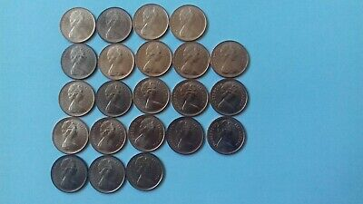 Various and Many 1971 to 1979 halfpennies higher grades