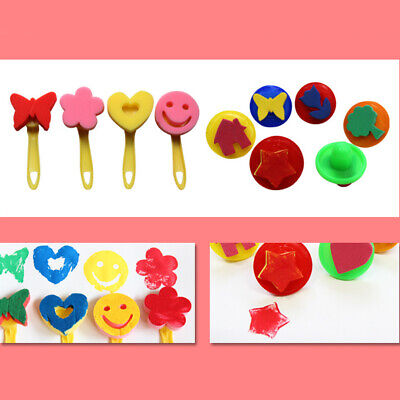 Toys Sponge Brush Interesting 29PCS/Set Children's Early Education Drawing Set