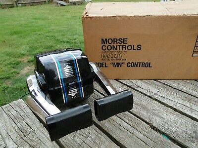Morse Controls Model MN Control Dual Top Mount NOS Missing Instructions Hardware