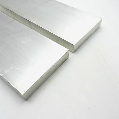 "1.5"" x 5"" Aluminum 6061 FLAT BAR 19.375"" Long new mill stock QTY 2 sku M381"