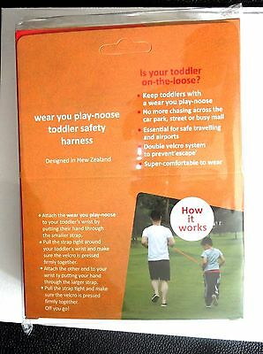 TODDLER SAFETY HARNESS ; Brand New & Sealed ; Box of 2