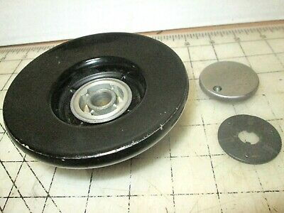 Singer Sewing Machine 301A Black Balance Wheel, Stop Motion Knob & Clutch