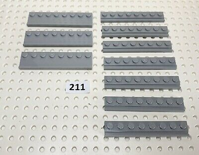FREE P/&P! Door Rail Slide Select Colour Modified Plate 1x8 LEGO 4510