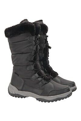 Mountain Warehouse Wms  Snowflake Womens Long Waterproof Thermal Snow Boot In