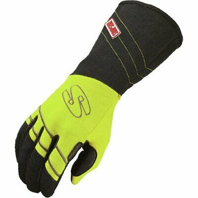 Simpson Safety HVMY Double Layer Hi-Vis Driving Gloves Medium (Yellow)