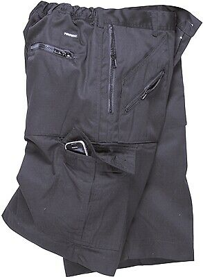 564 Navy Action Shorts Medium S889NARM Portwest Genuine Top Quality Product New