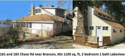 LAKE VIEW BRANSON HOUSES  $149000 / 4br - Bug Out Property 2 HOUSES 2 ACRES