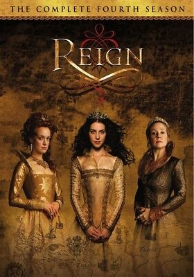 Reign: The Complete Fourth and Final Season (DVD,2017) (ward633545d)