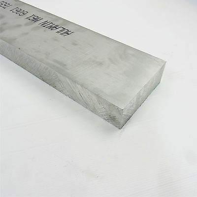 "1.75"" thick 6061 Aluminum PLATE  5.4375"" x 31.25"" Long Solid Stock sku 122955*"