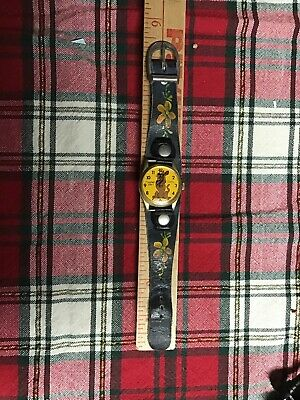 Antique Scooby Doo Watch Swiss Movement No Battery