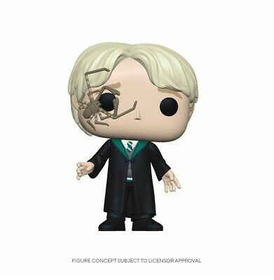 """HARRY POTTER Figurine DRACO MALFOY WITH WHIP SPIDER """"POP"""" FUNKO"""