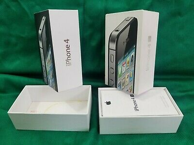 2 Empty Apple iPhone Box For Iphone S4 & 4