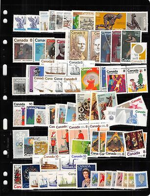 Lot of 439 Canada MNH Mint Never Hinged Stamps Range # 648 - 1109 #139926 X