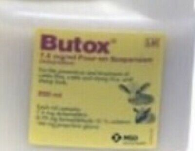240 Ml Butox7,5 Mg/ Ml, Mouches, Ticques, Poux