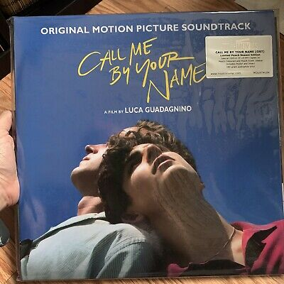 Call Me By Your Name Peach Scented Vinyl limited Edition New