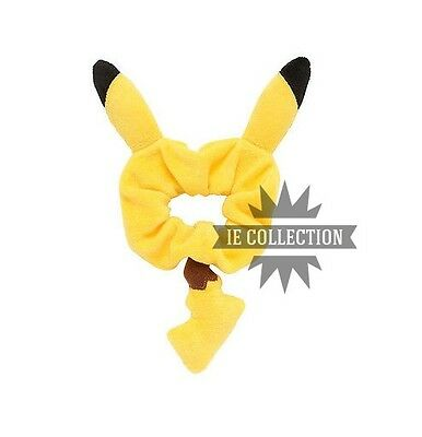 Pokemon Pikachu Elastic For Hair Cosplay Costume Tail Ears Hair Band Go