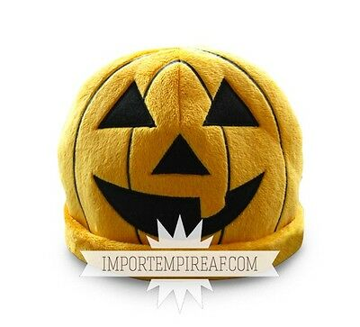 Halloween Pumpkin Hat Plush Hat Plush Hut Cosplay Pumpkin Citrouille Horror