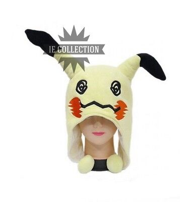Pokemon Mimikyu Hat Cosplay Hat Halloween Go Plush Mimiqui Sunglasses