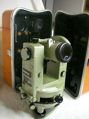 PENTAX GT-4B  Glass Circle Transit Mechanical Theodolite JAPAN 30X Anallactic