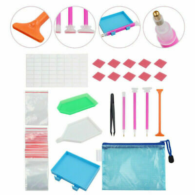 70x Multi 5D Diamond Painting Tool Embroidery Kit Art Painting Accessories new
