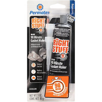 Permatex 34328 The Right Stuff® Grey Instant 90 Minute Gasket Maker - 3oz