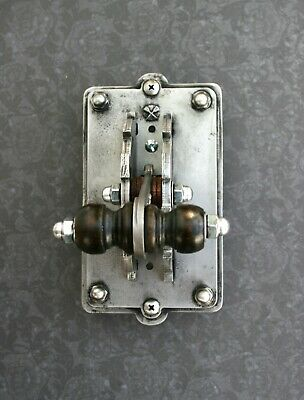 Industrial Laboratory Light Switch Plate - Single Toggle Frankenstein Steampunk