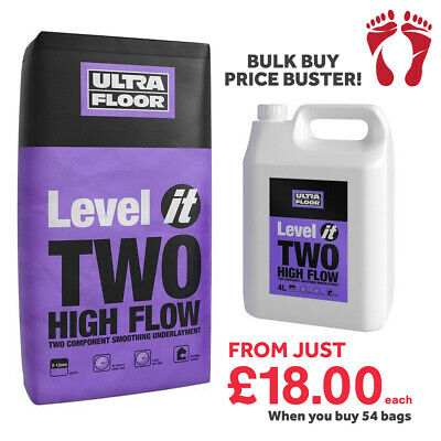 Flexible Self Levelling Compound - LEVEL-IT 2 For Flooring / Tiling / Heating