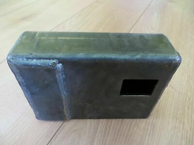 Shipping Container Weld On Lock Box Right Hand Opening Door Security + Lock