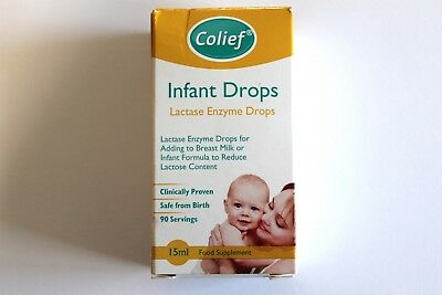 Colief Infant Drops Lactase Enzyme Drops Food Supplement For Babies - 15ml