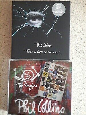 Phil Collins - The Complete Studio Collection CD Boxset(8cds) +The Singles(3cds)
