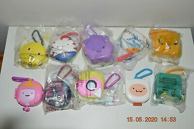 McDonalds - ADVENTURE TIME -  COLLECTION X 10 - 8 in ORIGINAL SEALED BAGS